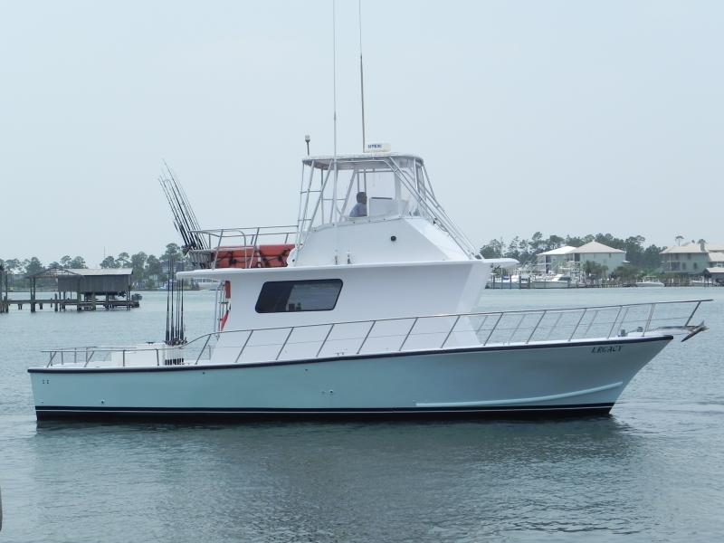 Orange Beach Fishing Charter Boat Legacy